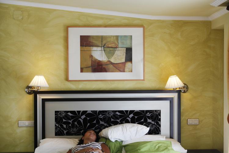 2011-08-03 salamanca - tableau hôtel